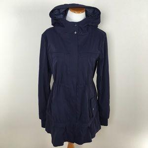 Lululemon Apres Practice Anorak Rain Hooded Jacket